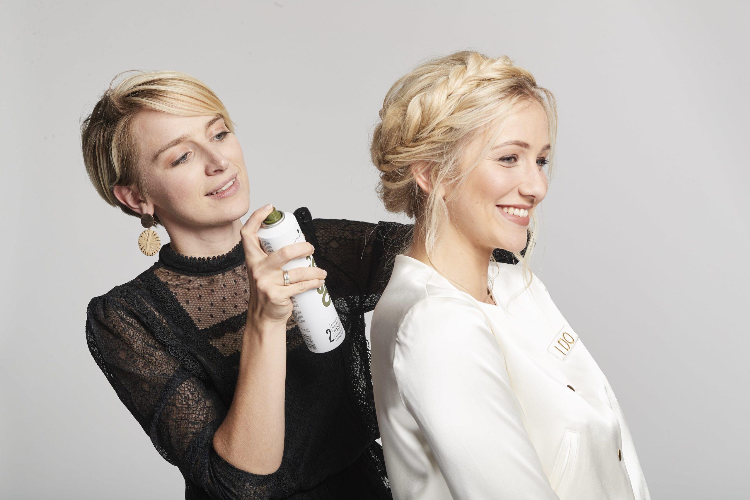 Lydia bei Schwarzkopf mit Lena
