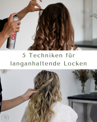 Langanhaltende Locken